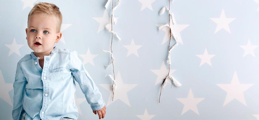 stjerner tapet