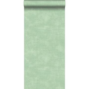 tapet betonlook mintgrønt