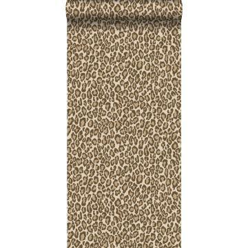 tapet leopardskind brunt