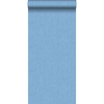 tapet jeansstruktur blåt