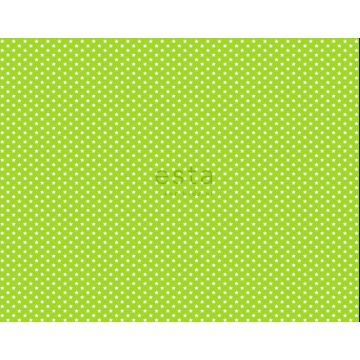 stoff stjerner limegrønt