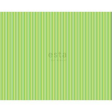 stoff striber limegrønt